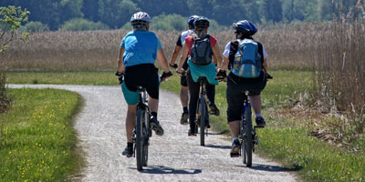 Cycling for healthy exercise